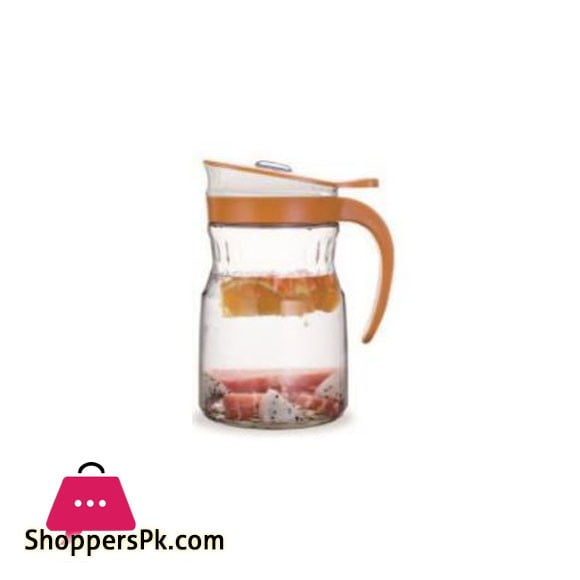 Brilliant Glassware Glass Jug (S) Orange - BR0230