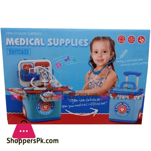 Medical Supplies Suitcase For Kids