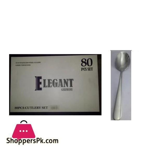 Elegant 3 Set Cutlery 80Pcs 4.0MM - EL27MS