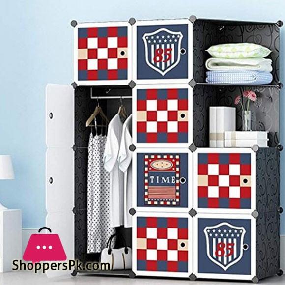 Football Club DIY Cube Cabinet 10 Door 1 Hanging Corner Cabinet