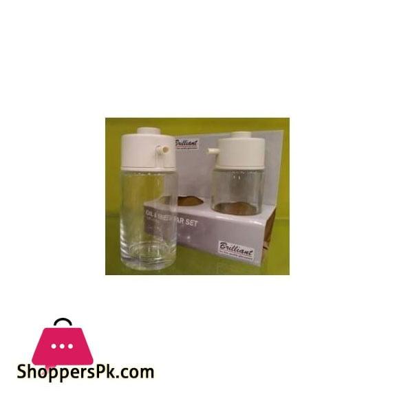 Brilliant Glassware Oil & Vinegar Set 170ml - BR0200