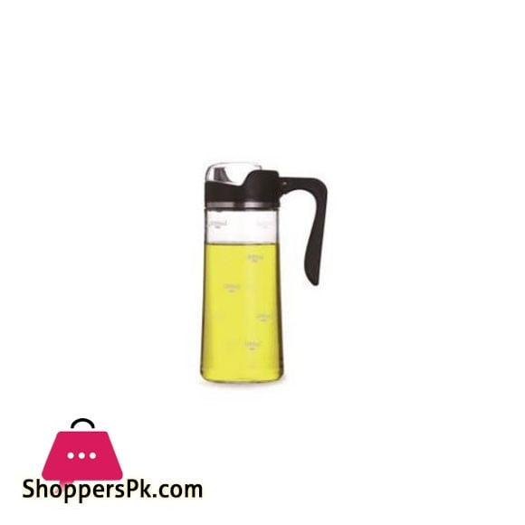 Brilliant Glassware Oil & Vinegar Bottle Black - BR0226
