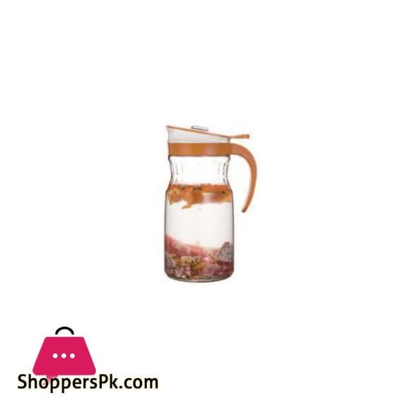 Brilliant Glassware Glass Jug (M) Orange - BR0228