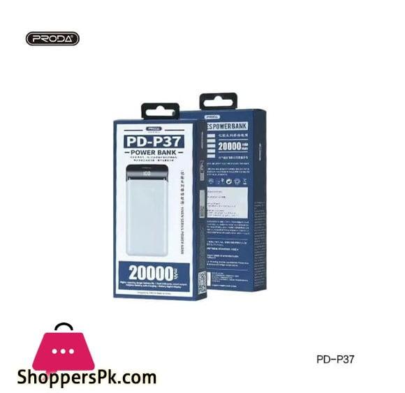 PRODA 20000mAh Power Bank PD-P37