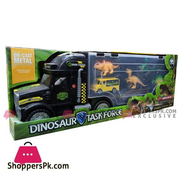 Dinosaur Transport Car Carrier Truck Toy with Dinosaur Toys Inside