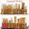 Caspian 24 Pcs Cutlery Set With Stand New Design