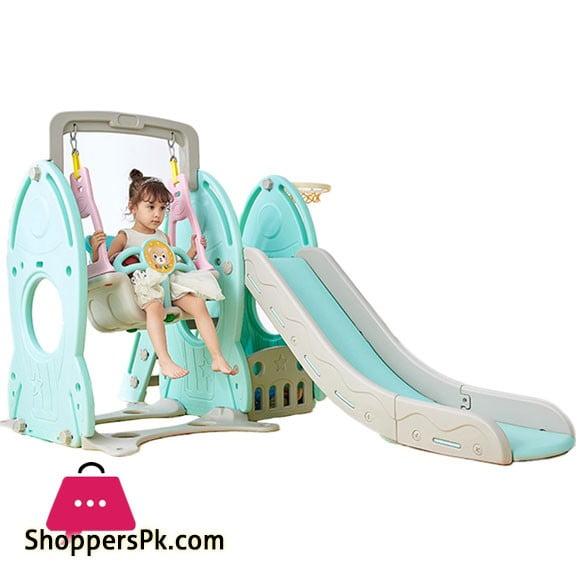 Indoor Kids Slide with Swing LHJ03 0-10 years