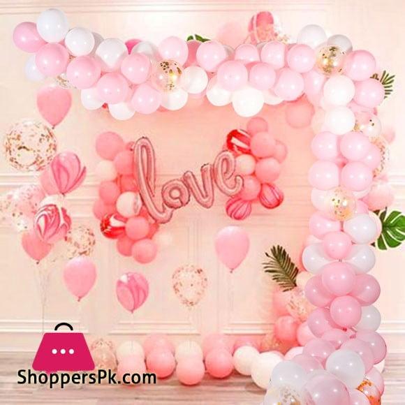 Love Foil Balloon 42 Pcs Complete Deal Pack