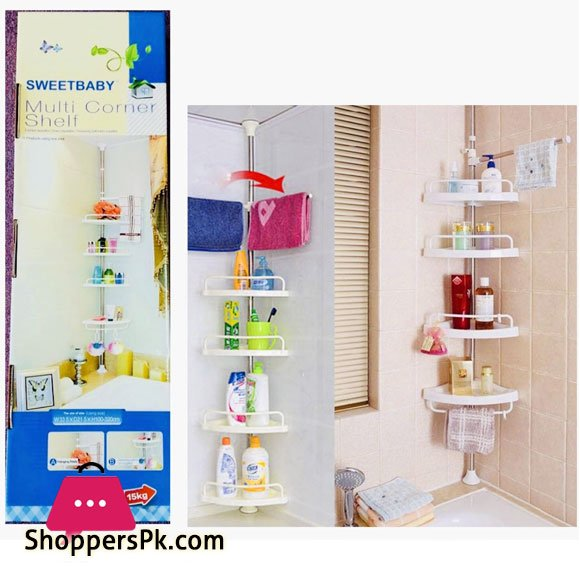 Buy Multi Bathroom Corner Shelf 4 Tier At Best Price In Pakistan