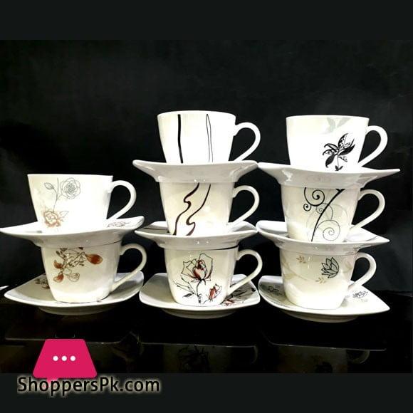 New Bone Porcelain Cup & Saucer Set