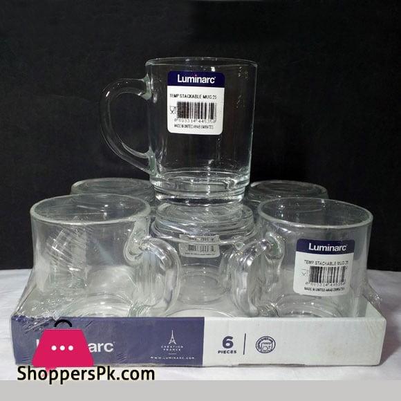 Pack of 6 - Luminarc Coffee Mug - 25 cl