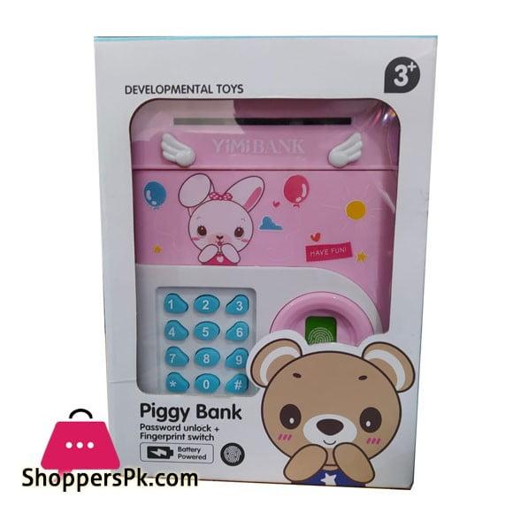 Piggy Bank Password Unlock Fingerprint Switch