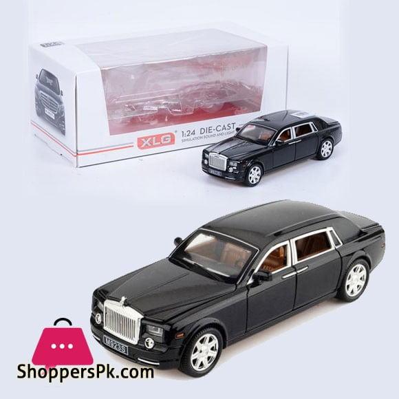 Rolls-Royce Phantom Metal Diecast Model Car Toy Black