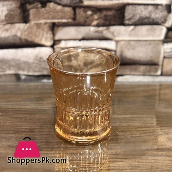 Royal Colored Water Glasses Set of 6
