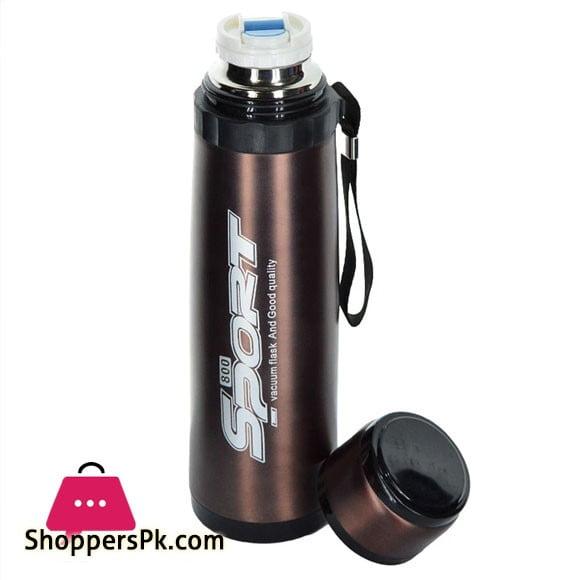 Sports Stainless Steel Water Bottle 800-ML