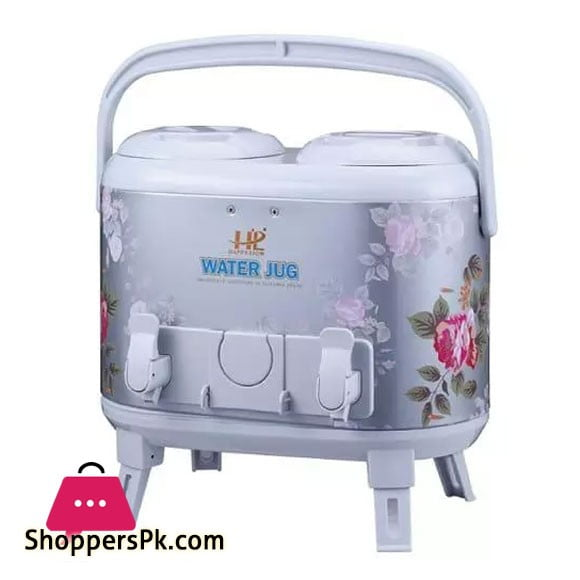 Water Cooler Twin 15 Liter Printed Body Aluminium Inner Imported Cooler