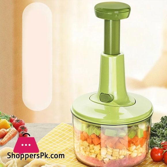 1000ml Hand Manual Chopper Pull Mashed Vegetable Machine
