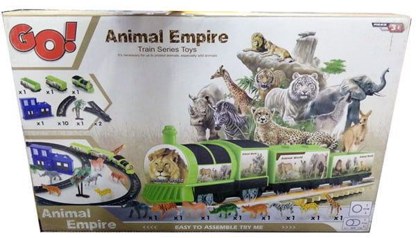 Animal Empire Train Series Toy For Kid