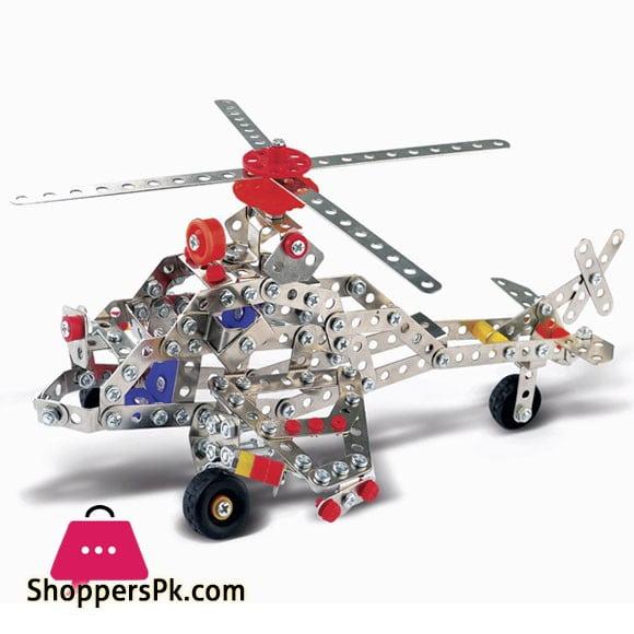 Apche Construction Set Helicopter 349 Pieces