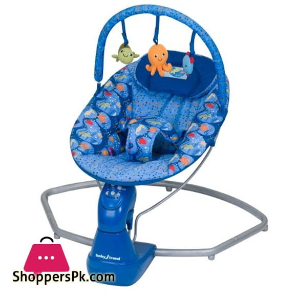 Baby Trend Swing Bouncer, Coral Reef SW56940