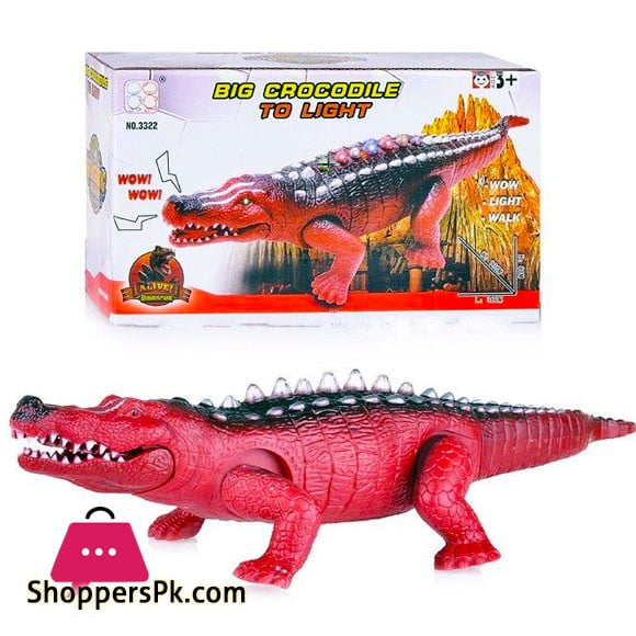Big Crocodile To Light For Kid