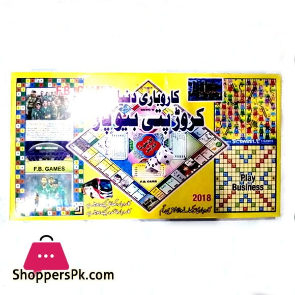 Business Board Game for Kids