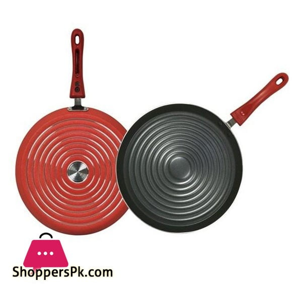 Domestic Non-Stick Grill Pan 12 Inch One Piece