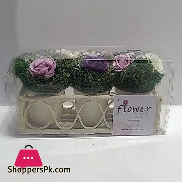 Flower Express Mini Rattan Planter Pot Sri Lanka Made