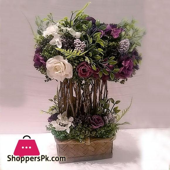 Flower Express Paradise 04007 Rattan Planter Sri Lanka Made