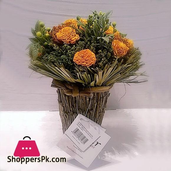 Flower Express Sunflower Tapper Rattan Planter FL-175 Sri Lanka
