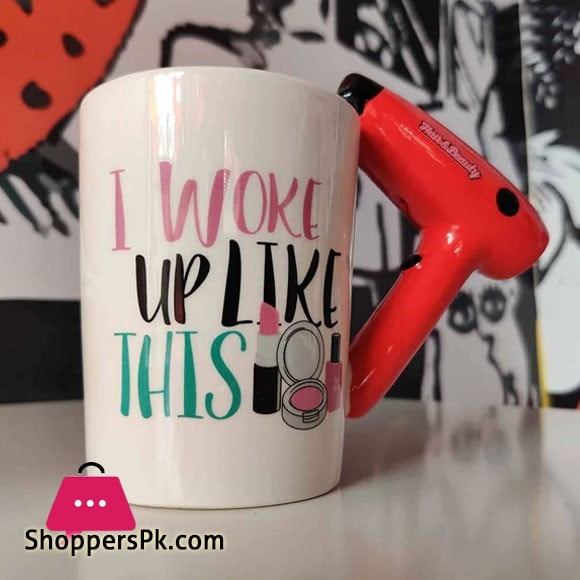 Hair & Beauty Style 3D Beauty Series Coffee Mug