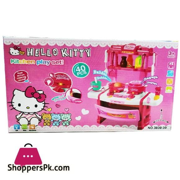 Hello Kitty Kitchen Play Set 40 Pieces