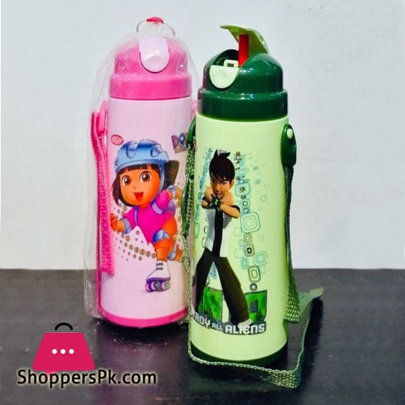 Hi Cool Cartoon Character Water Bottle One Piece