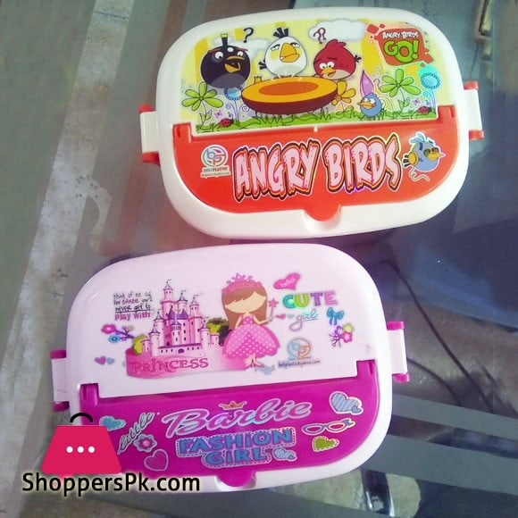 High Quality Plastic Lunch Box One Piece
