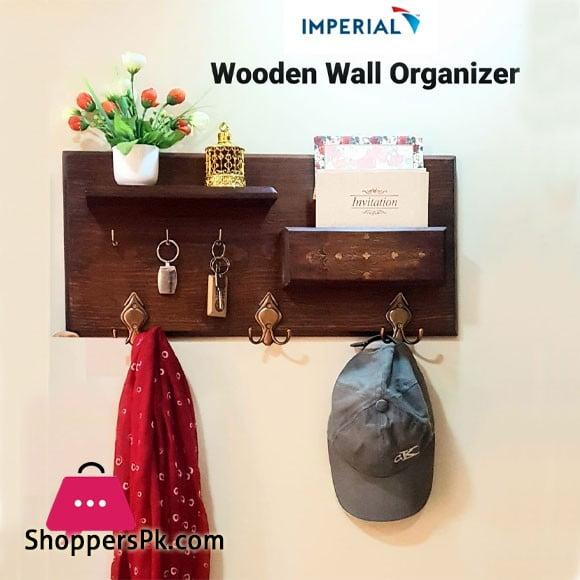 Imperial Wood Wall Organizer