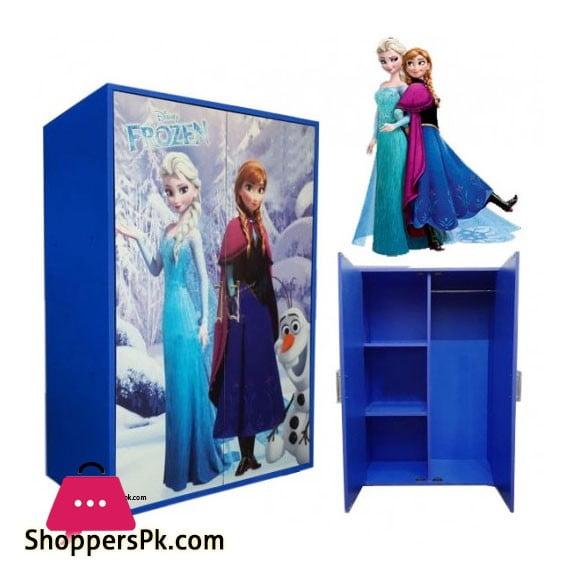 Kids Wooden Wardrobe 2 Door ( Frozen )