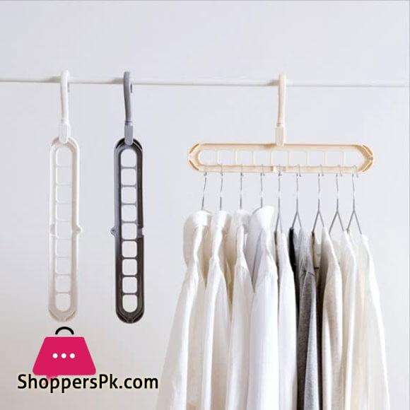 Multipurpose Cloth Hanger Pack of 6