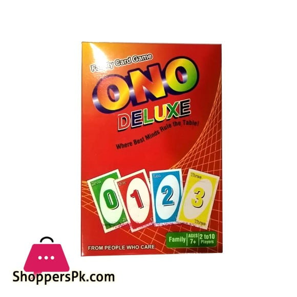 ONO Deluxe Card Game For Kid