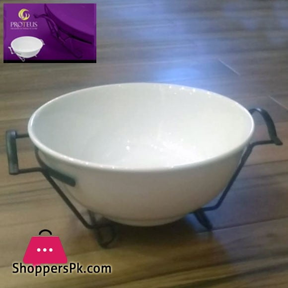 PROTEUS 9'' Round Bowl with Stand 07982