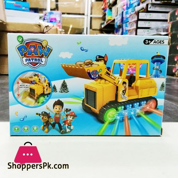 Paw Patrol Bulldozer With Light and Sound For Kid