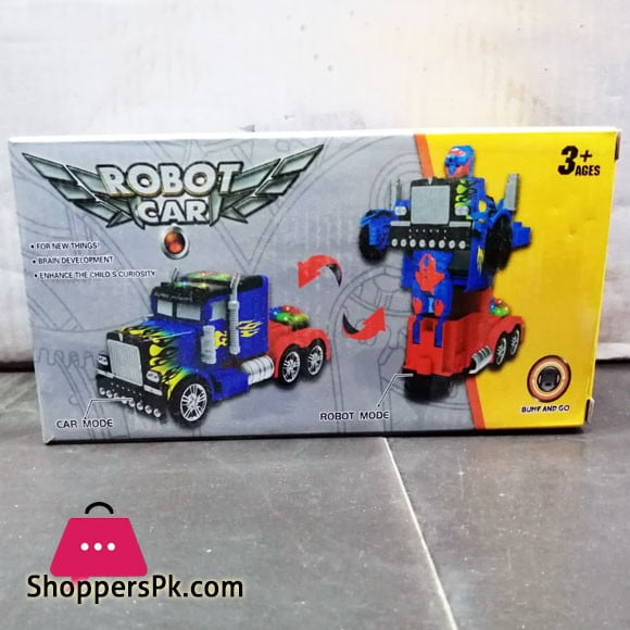 Robot Car Bumf and Go (Truck)
