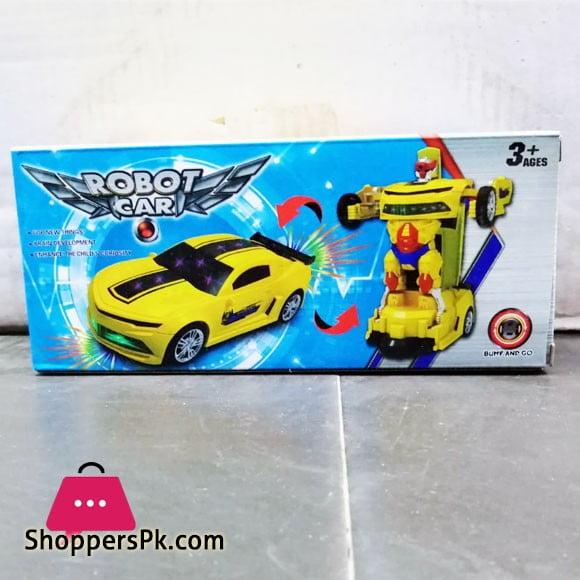 Robot Car Bumf and Go