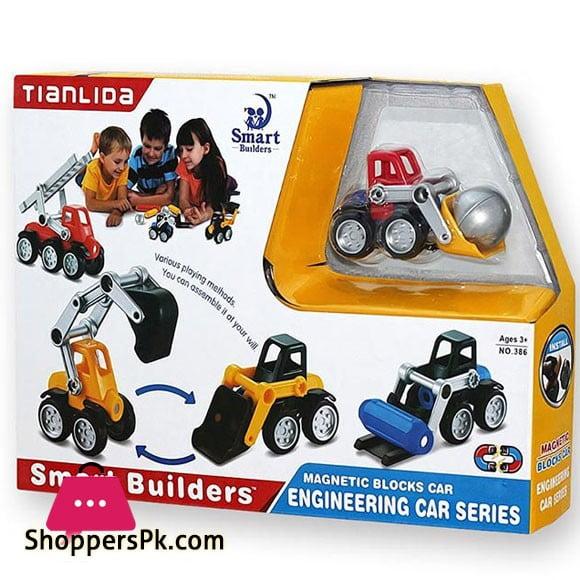 Smart Builders Engineering Car Series