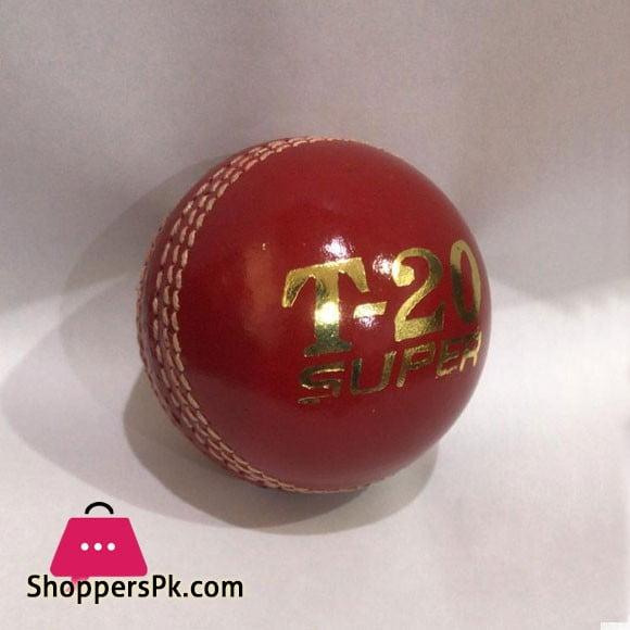 Test Professional T-20 Super Weight 150 GRM Cricket Hard Ball 1 Pcs