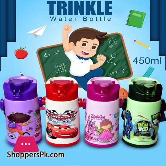 Trinkle Cartoon Character Water Bottle 450ML One Piece