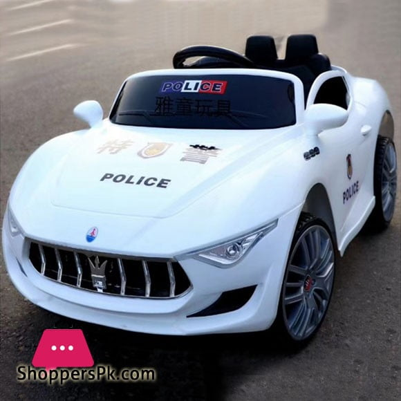12V Electric Kids Ride on Car Maserati Police Car with Swing YS-1788