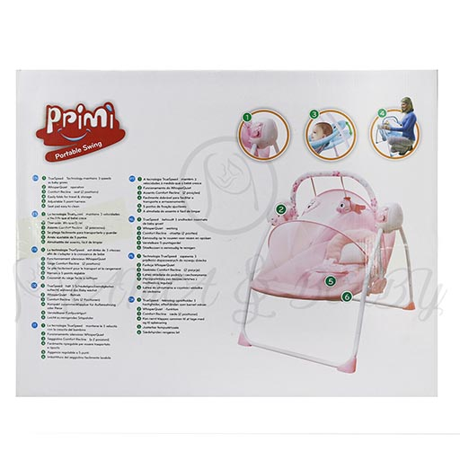 P-S828-B ELECTRIC SWING WITHOUT REMOTE