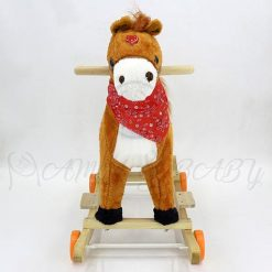 ROCKING HORSE WITH WHEEL SMALL 011+M