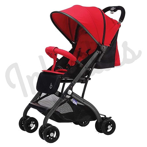 EXCLUSIVE STROLLER Red QZ1-168 EASY