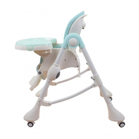 E-102S BLUE HIGH CHAIR